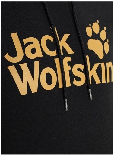 Jack Wolfskin Jack Wolfskin 5024521-6000 Erkek Sweatshirt Siyah